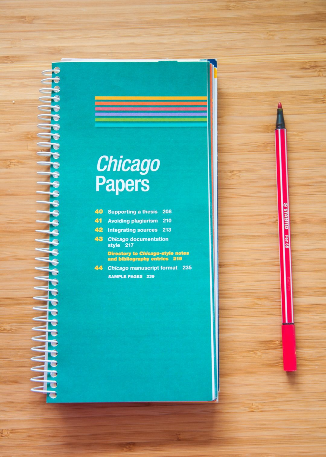 chicago manuscript style