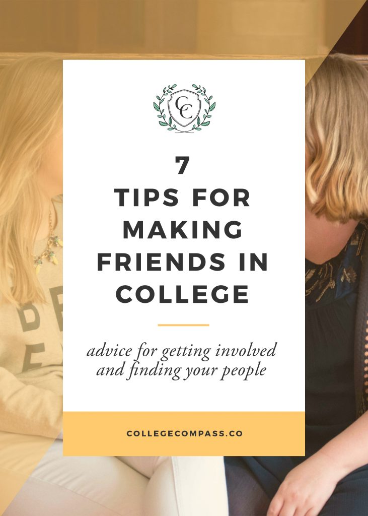 7 Tips for Making Friends in College