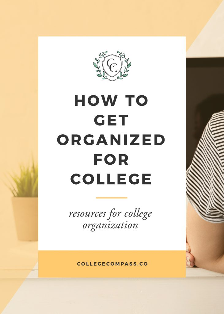 The UPDATED and expanded version of the most popular college organization post on Pinterest! Learn how to organize your college life here. Save this pin and click through to read. | College Compass