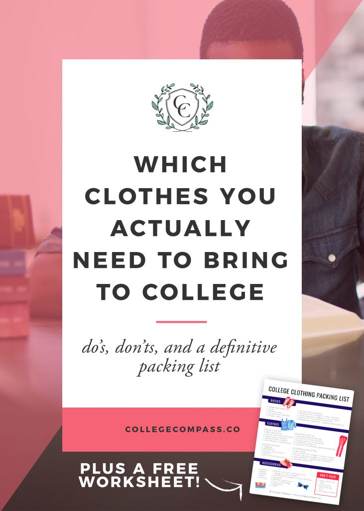 Which Clothes You Actually Need to Take to College
