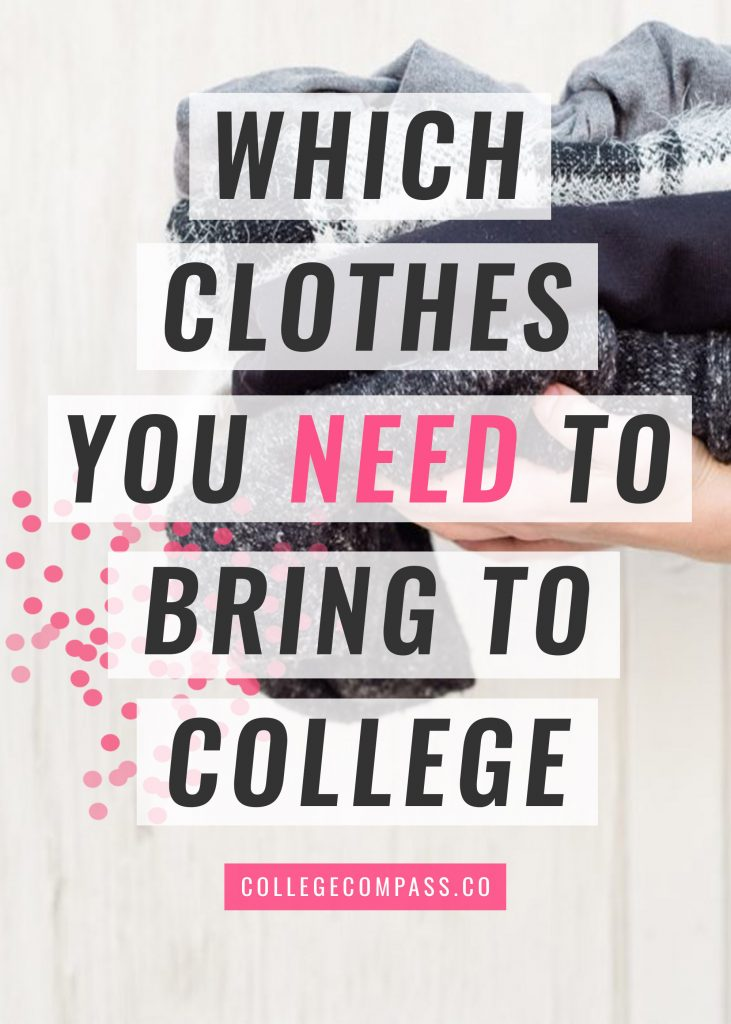 Super great clothing packing list. Love these clothes to pack for college. Click to read and pin to save for later!