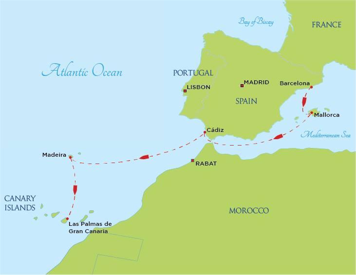 Semester at Sea Map | College Compass