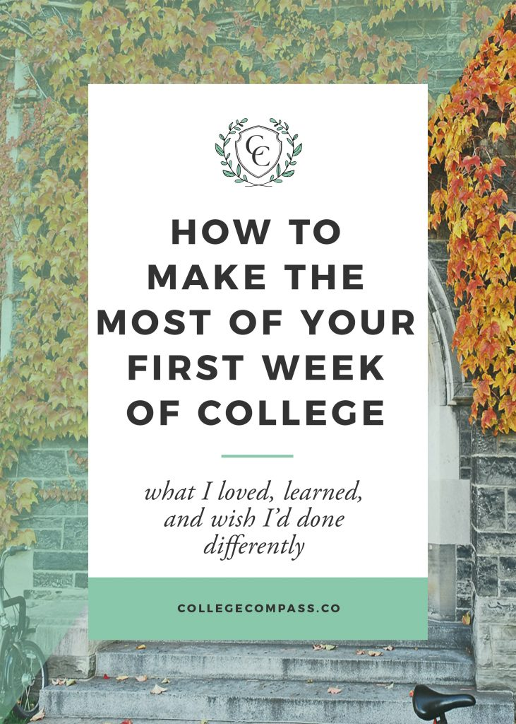 First Week of College - College Compass