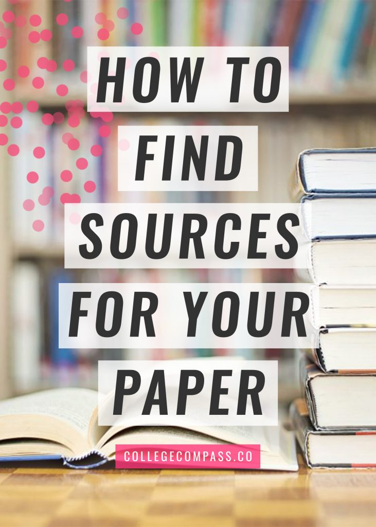 Super helpful post on how to find sources for a research paper; some of these tricks are amazing!