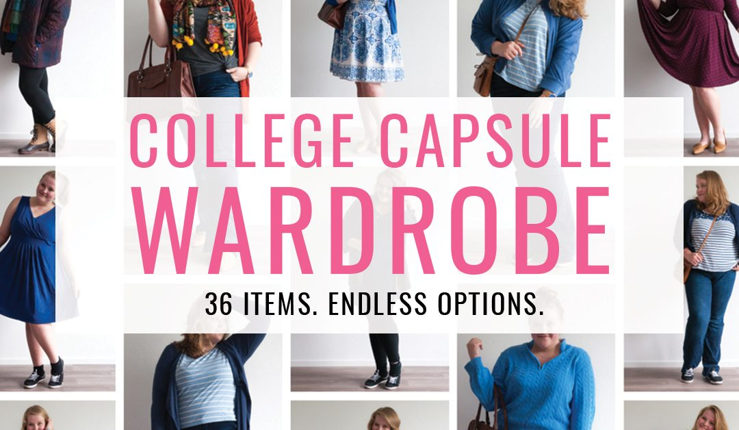 College Capsule Wardrobe: 36 Items, Endless Options