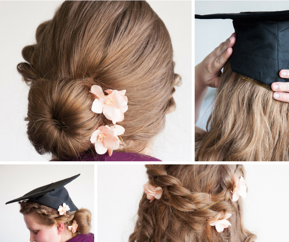 35 Graduation Hairstyles (and 3 Hair Hacks To Achieve Them