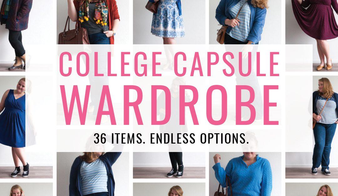 412c6160005 College Capsule Wardrobe  36 Items